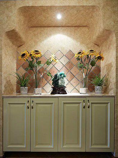 美式风格玄关收纳柜设计效果图大全