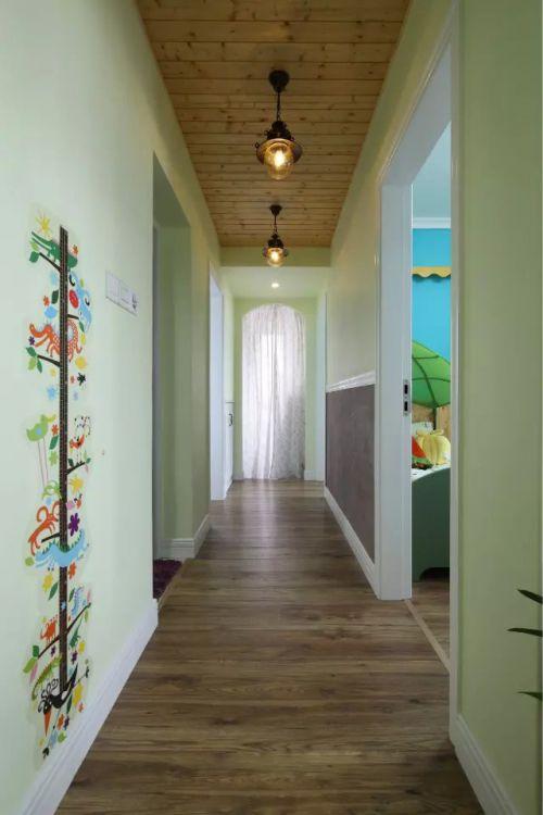 小型公寓玄关过道装修效果图欣赏