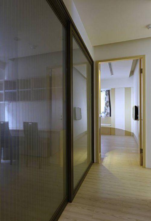 混搭家装走廊玻璃设计效果图