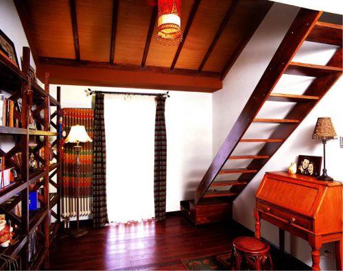 混搭风格楼梯装修设计效果图