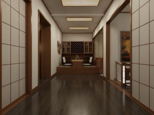 72平米舒适混搭风格小户型玄关装修设计