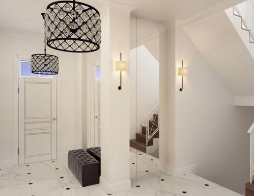 现代公寓玄关吊顶图片
