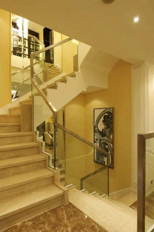东南亚风格别墅楼梯设计图