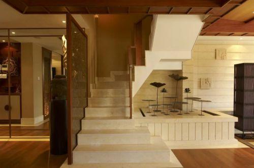 东南亚风格楼梯装修效果图