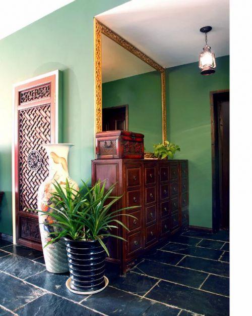 东南亚风格玄关设计效果图