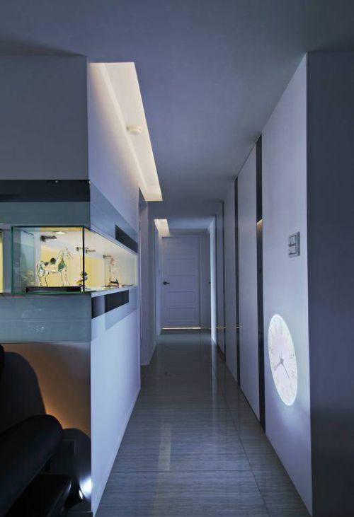 欧式走廊设计样板间效果图
