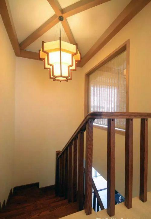 东南亚楼梯设计效果图