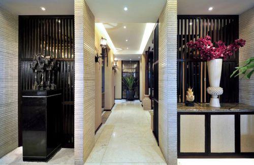 东南亚风格走廊效果图吊顶设计