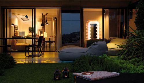65平多彩小户型公寓花园装修效果图