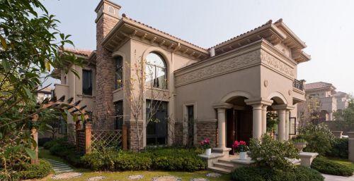 120平简约美式别墅外观设计