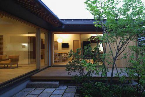 清新日式花园设计图片