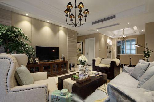 现代风格时尚雅致客厅设计效果图