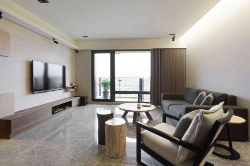 亮丽大气现代风格客厅装修设计