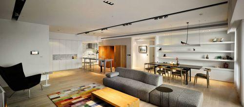 干净现代简约客厅灯具图片大全