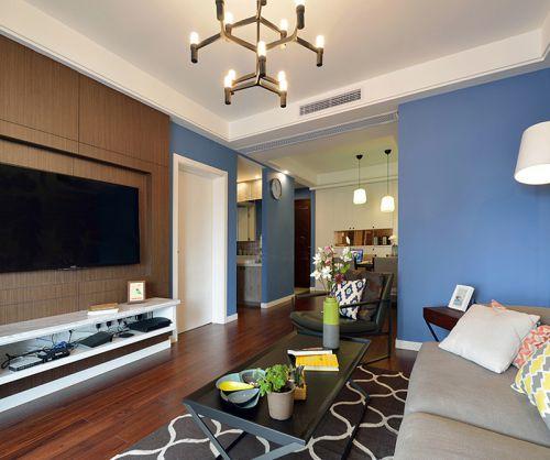 现代风格高质量极简客厅装修效果图