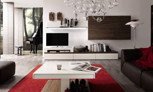 现代风格别墅时尚创意客厅装修效果图