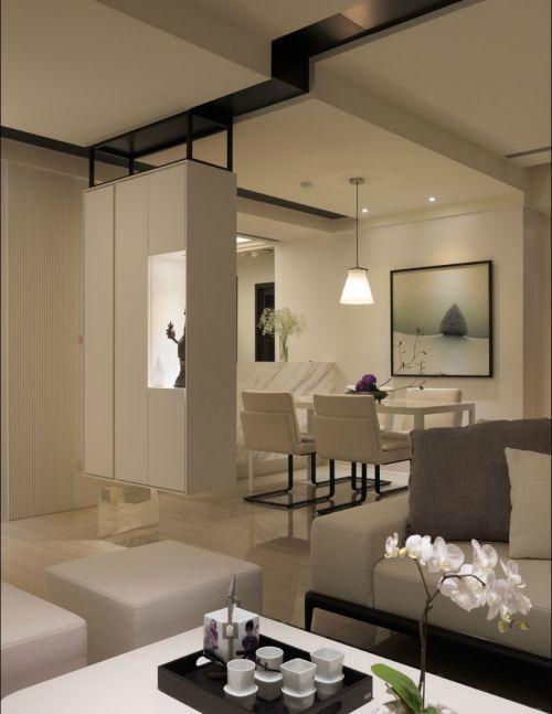 雅然现代风格别墅客厅装修设计