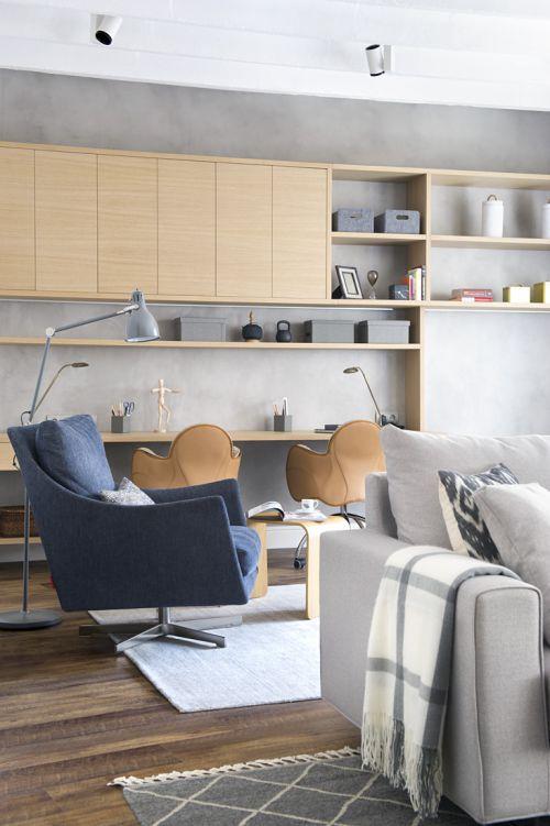个性现代风格客厅装修实景图