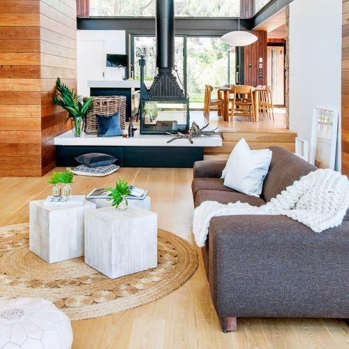 现代风格轻奢别墅时尚客厅装修设计图