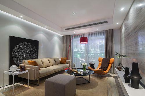 气质优雅现代风格艺术客厅装修设计