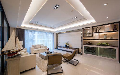 大气现代风格三居室客厅装修图片