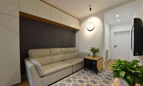 家装现代风格客厅沙发效果图