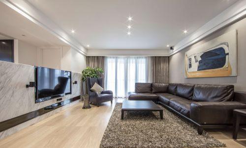 典雅现代风格客厅沙发效果图欣赏