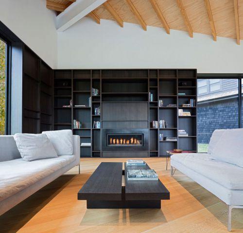 简洁利落现代风格客厅茶几装修图片