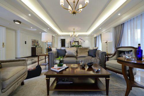轻奢现代风格客厅沙发装修图片