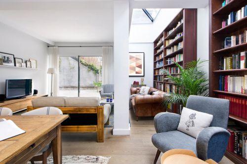 豪华现代风格别墅客厅装修设计