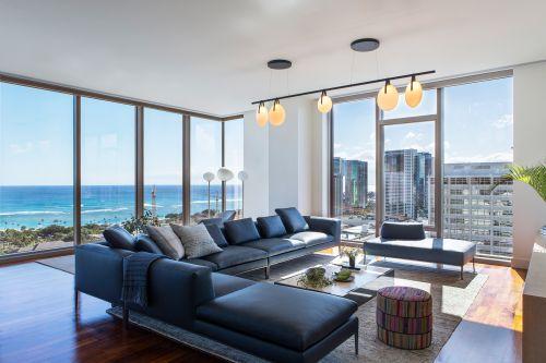奢华海景房现代风格客厅装修设计