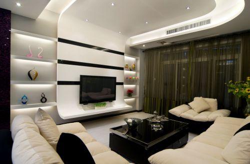 创意空间现代风格客厅装修设计