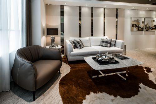 个性二居室现代风格客厅装修设计