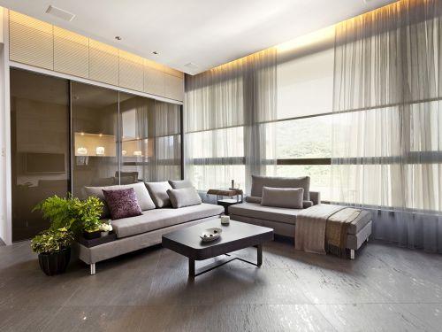现代简约三居室客厅沙发装修效果图大全