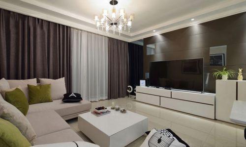 现代风格住房客厅装修设计图片