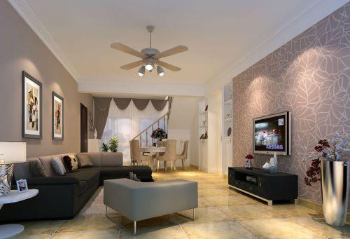40平米简欧风格小复式客厅装修效果图