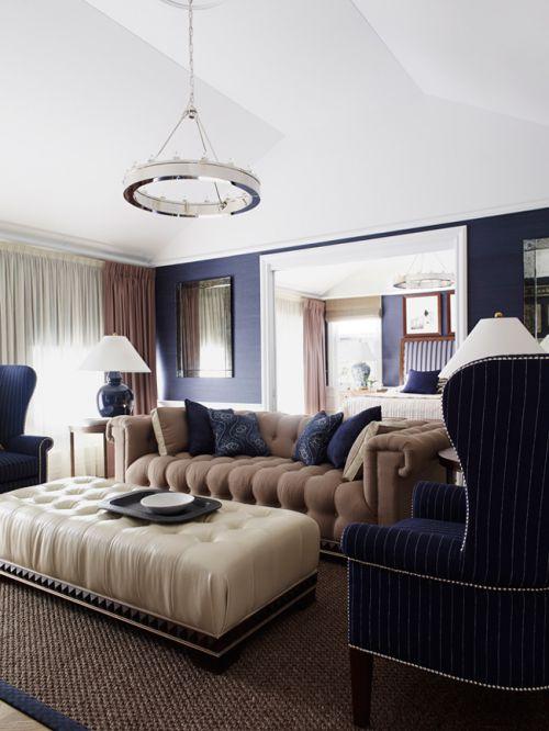 舒适轻奢简欧风格客厅装修效果图