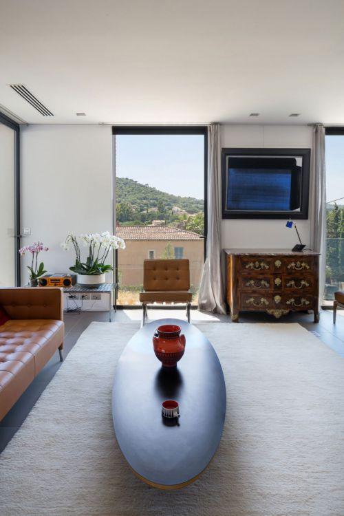 清新简欧风格客厅创意茶几效果图