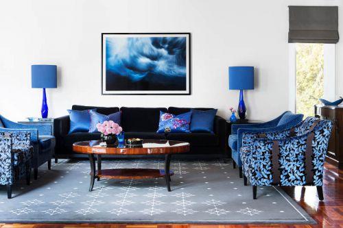 典雅精致简欧风格客厅茶几装修图片