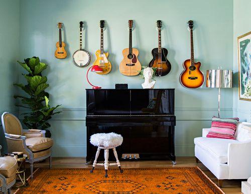 音乐世家客厅装修效果图