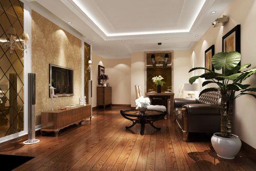 简欧风格二居室客厅装修效果图