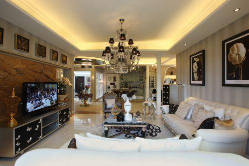 125平三室两厅 打造简欧风格公寓