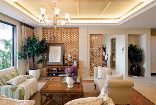 优雅简欧风格别墅客厅装修美图