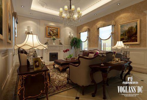 简欧风格别墅客厅装修图片