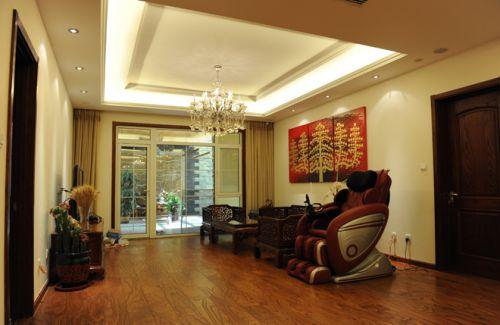 现代简欧六居室客厅装修效果图大全