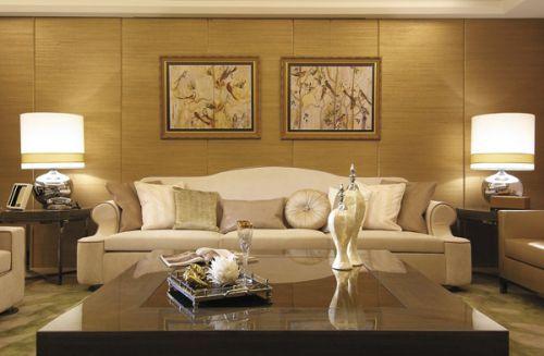 简欧风格四居室客厅装修图片
