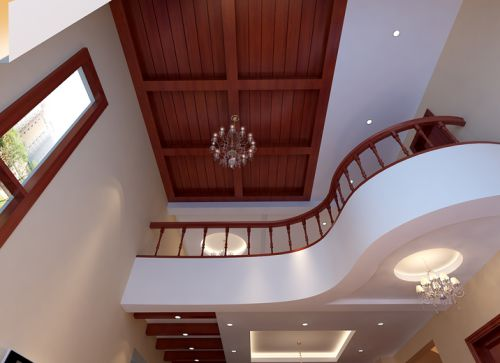 简欧风格四居室客厅飘窗装修效果图大全
