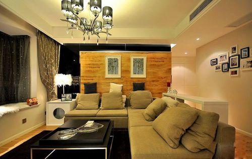 简欧风格二居室客厅飘窗装修效果图大全