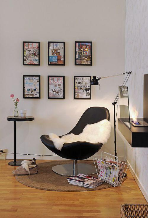 精致简欧风格客厅照片墙装修实景图