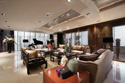 气质典雅中式风格客厅装修设计